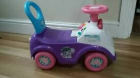 Mcstuffins ride on with music