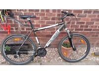 gents merida fully alloy mountain bike