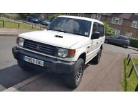 Mitsubishi Shogun 2.8 Diesel Rear Manual Gearbox genuine low miles clean inside out+powerful runner