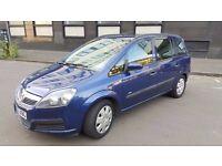 2006 Vaxhall Zafira Expression 1.6 petrol 7 seats 8 Month MOT..