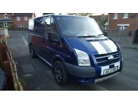 Ford transit st lookalike facelift