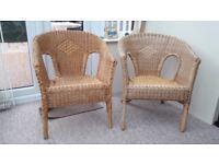 wicker bedroom chairs