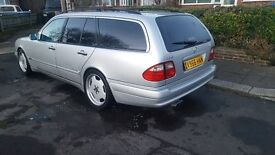 mercedes e55 amg estate v8 long mot