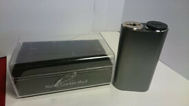 Authentic Wismec jaybo Noisy Cricket IN SILVER Scratch Code unregulated box mod