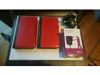 2 Excellent Condition Nintendo 3DS XL in Red