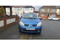 2004 (54) RENAULT MEGANE SCENIC 1.4L PETROL MANUAL 5DR MPV MOT SEP 2017 HPI CLEAR ONLY 2 OWNERS