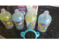 Nuby Natural Touch Bottle Set