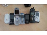 Old mobile phones .. faulty .. untested