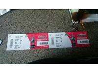 X2 tickets for challenge cup final