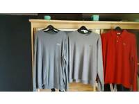 3 jumper 4 t-shirts all xlarge