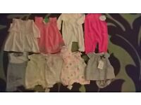 baby girls clothes bundle firstsize up to 3-6M BNWT