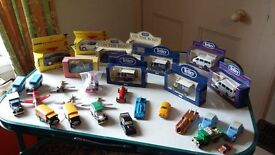 Collection of dinky cars