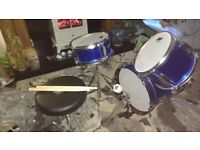 Real drum kit for a child