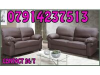 THIS WEEK SPECIAL OFFER LEATHER SOFA Range 3 & 2 or Corner Cash On Delivery 0076