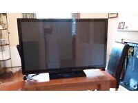 Panasonic Plasma Tv -TX-P42X50B for spares or repair