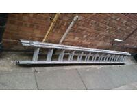 Heavy duty double 13 ladders