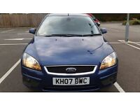 FORD FOCUS 1.8 TDCI TITANIUM. GOOD SERVICE HISTORY. MOT JULY 2017. NEW CLUTCH AND FLYWHEEL.