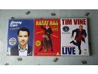 DVDs stand up comedy