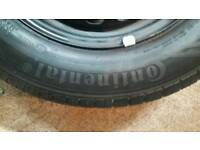Continental 185/70 R 14 88T Tyre (Still for Sale)