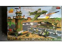 Lego - COBI military base, military base and airforce sets