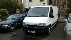 fiat ducato 2 berth campervan 56 plate bargain 1800 no offers 1 owner from new