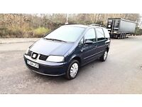 2004 SEAT ALHAMBRA ,NEW CLUTCH , SERVICE HISTORY ,BARGAIN