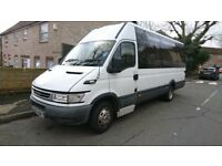 Iveco Minibus with Big Boot