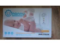 Nanny monitor baby breathing sensor mat