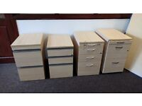 4 x Office Storage and Filing Cabinets