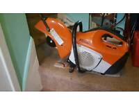 Stihl ts 410 in tidy and clean condition, starts from a few pulls, brill saw