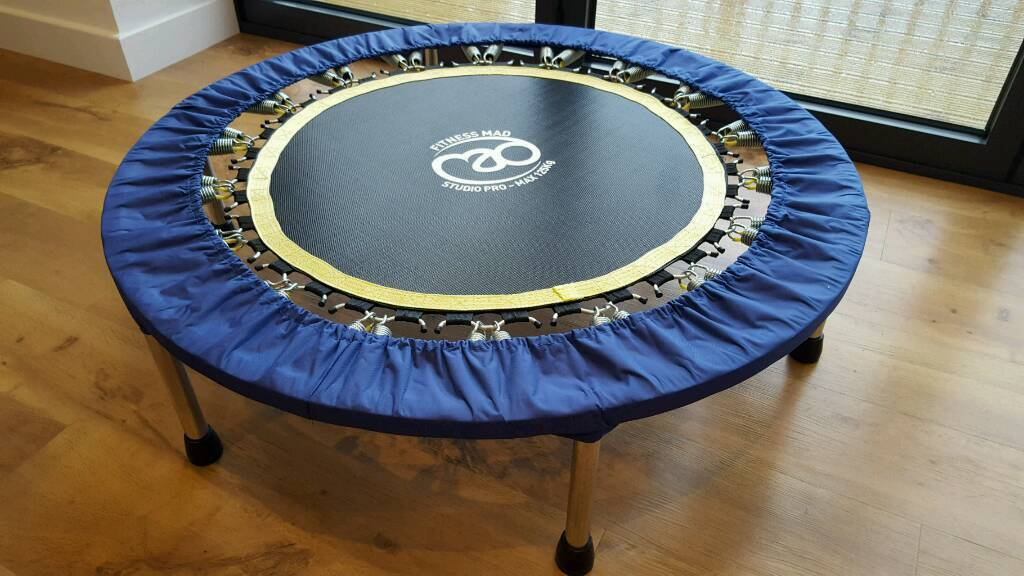 Fitness MadStudio Pro RebounderFitness Trampolinein Otley, West YorkshireGumtree - Fitness Mad Studio Pro Rebounder / Fitness Trampoline.Excellent condition. From a pet and smoke free home. Collection only from Otley, Leeds 21. Any questions, just ask