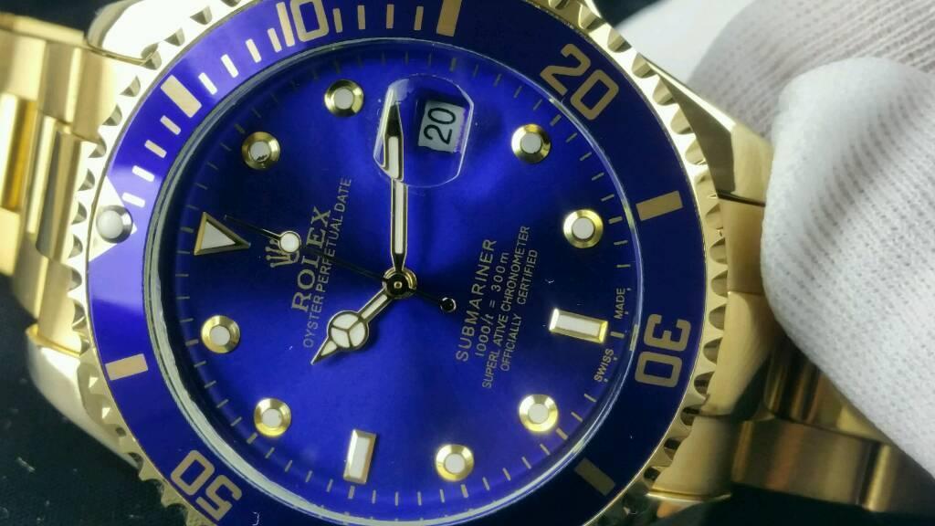 Rolex submarinersunburst blue dial 43mm