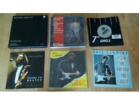 "12 x 7"" eric clapton box sets / singles / rare cd"