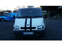 2002 Ford Transit 260 SWB TD WITH 12 MONTHS MOT