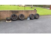 16 inch wheels with tyres