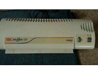GBC Docuseal 125 A4 laminator.