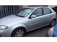 2007 CHEVROLET LACETTI.. 1.4 cc only 61k
