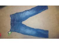 "BNWT Men's Jeans Jack & Jones antifit RRP £65 - grab a bargain! 34"" waist, 32"" leg"