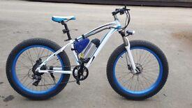 350W 36V 10.4AH 25mph Electric Cruiser fat Bike Ebike 26''