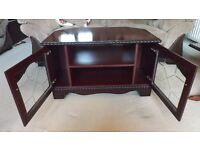 4 Piece Mahogany Effect Furniture Collection