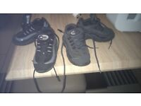 nike baby trainers size 8 and half