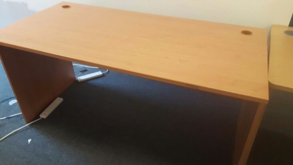 Executive office desks 55 pounds eachin Belfast City Centre, BelfastGumtree - Office desks good strong desks ideal for the office or home office price is 55 pounds each optional pedistals available at extra 30 pounds each delivery can be arranged