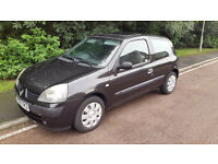 2005 Renault Clio 1.2! 10M MOT! FSH! Cheap reliable bargain!