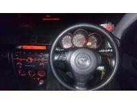 Mazda 3, 1.6 petrol, long mot, 900£ ono