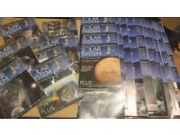 Eaglemoss complete collection of build your own solar system *BRAND NEW* with added extras f
