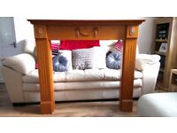 Solid Wood Fire Surround: Paid £900 from Gas Care **£70**