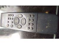Panasonic VCR and TV Remote Control Retro