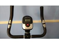 Exercise bike excellent condition, padded seat cover, electronic display
