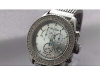 Marc Ecko E17500G1 Chronograph Silver Dial The General Mens Watch