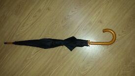 Wooden handled Quality Umbrella unisex £9.00